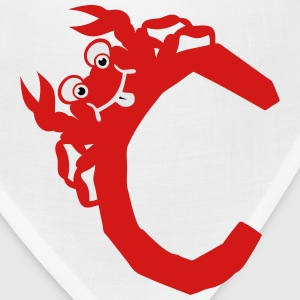 crab c drawing 511 Kids' Shirts - Bandana