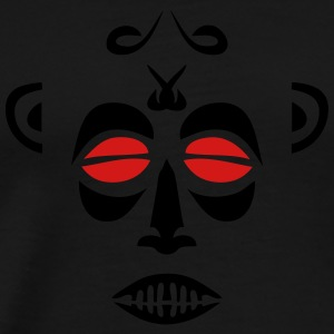 african mask 74 Long Sleeve Shirts - Men's Premium T-Shirt