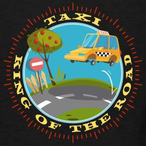 american_taxi_driver_king_of_the_road_07 Baby Bodysuits - Men's T-Shirt