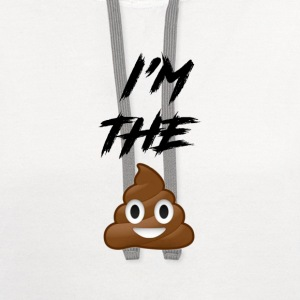 I'm the S*** - Contrast Hoodie