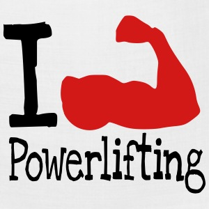I love Powerlifting_red T-Shirts - Bandana