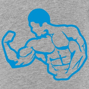 bodybuilding body fitness club logo 6_1 Kids' Shirts - Toddler Premium T-Shirt