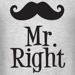 Mr. Right Sportswear - Men's T-Shirt