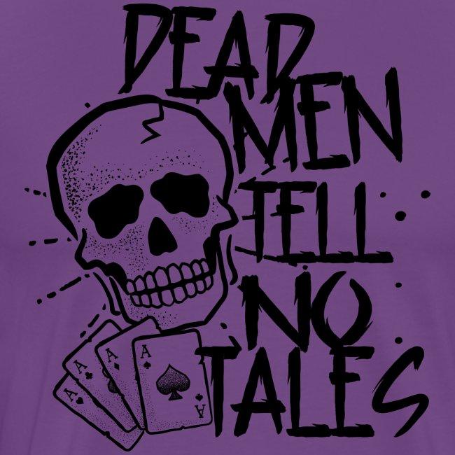 """American Apparel """"No Tales"""" Men's Tee"""