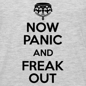 Now Panic and Freak Out Sportswear - Men's Premium Long Sleeve T-Shirt
