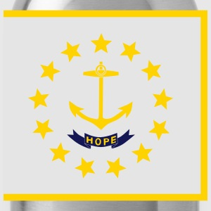 Flag Rhode Island Kids' Shirts - Water Bottle