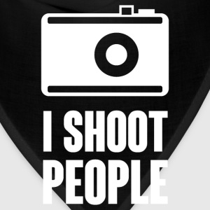 I Shoot People T-Shirts - Bandana
