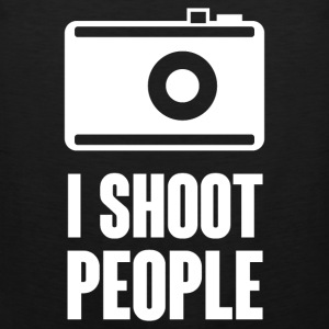 I Shoot People T-Shirts - Men's Premium Tank