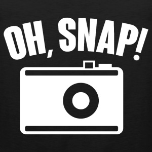 Oh, snap (photography) T-Shirts - Men's Premium Tank