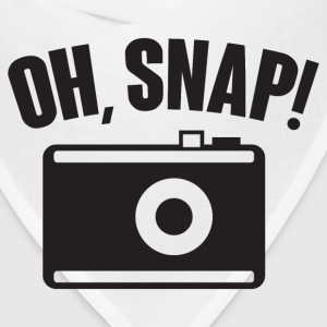 Oh, snap (photography) T-Shirts - Bandana