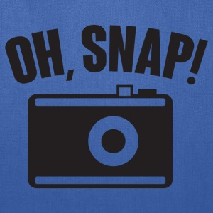 Oh, snap (photography) T-Shirts - Tote Bag