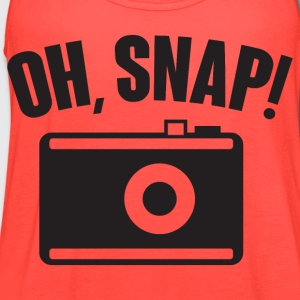 Oh, snap (photography) T-Shirts - Women's Flowy Tank Top by Bella