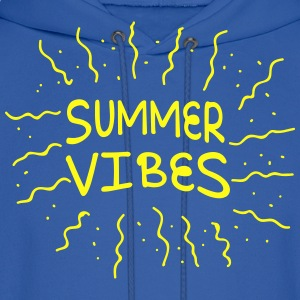 summer vibes with rays of sunshine T-Shirts - Men's Hoodie