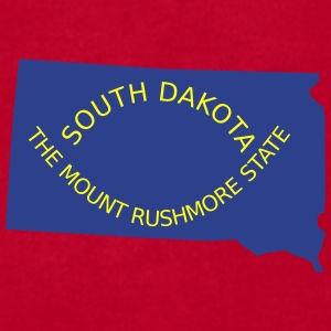 South Dakota Mugs & Drinkware - Men's T-Shirt by American Apparel