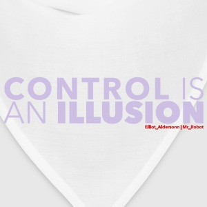 mr robot quotes control illusion T-Shirts - Bandana