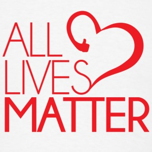 All Lives Matter Buttons - Men's T-Shirt
