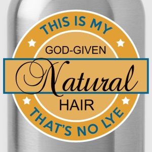God-Given Natural Hair (Premium) - Water Bottle