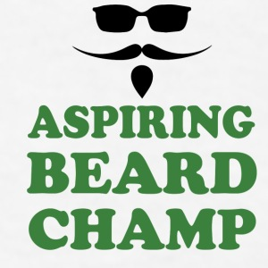 Aspiring Beard Champ Contrast Coffee Mug by Joto - Men's T-Shirt