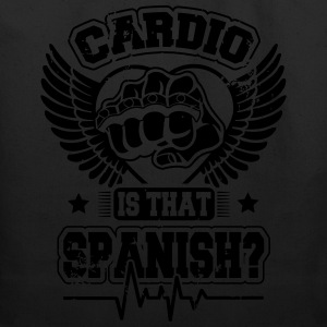 cardio is that spanish Tanks - Eco-Friendly Cotton Tote
