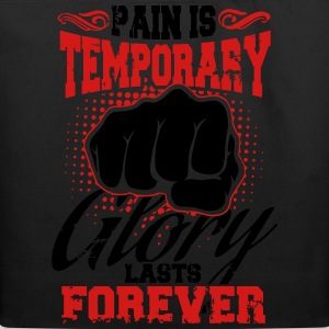 pain is temporary pride is forever T-Shirts - Eco-Friendly Cotton Tote