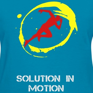 Soltion in Motion - Women's T-Shirt