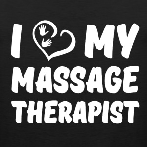 Massage Therapist Shirt - Men's Premium Tank