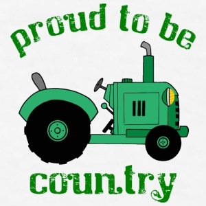 Proud To Be Country - Men's T-Shirt