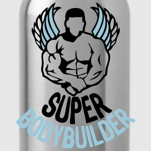 super bodybuilder 5 wing body 14 T-Shirts - Water Bottle