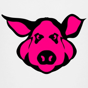 pig head design 506 Kids' Shirts - Toddler Premium T-Shirt