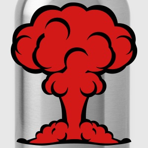 atomic bomb explosion mushroom cloud 506 T-Shirts - Water Bottle