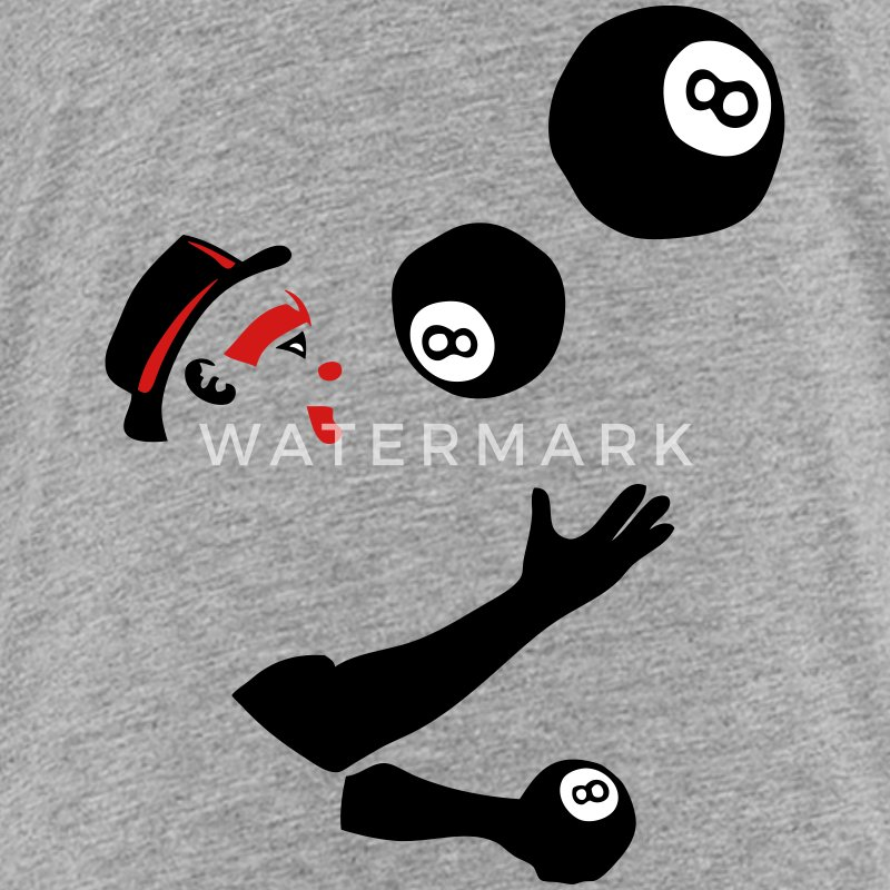 8 billiard ball juggler _2 Kids' Shirts - Kids' Premium T-Shirt