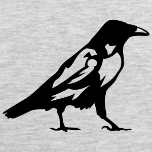 raven birds 1 T-Shirts - Men's Premium Tank