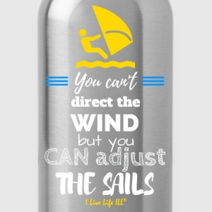 You can adjust the sails tshirts T-Shirts - Water Bottle