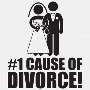 Number One Cause of Divorce (Marriage) Phone & Tablet Cases - Men's Premium Tank