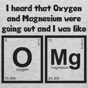 OMG - Oxygen and Magnesium T-Shirts - Men's Premium Tank