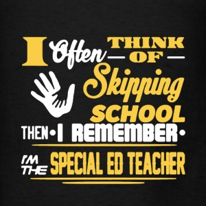 Specia Ed Teacher Shirt - Men's T-Shirt