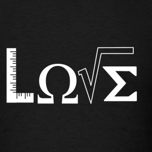Love Math Teacher Shirt - Men's T-Shirt