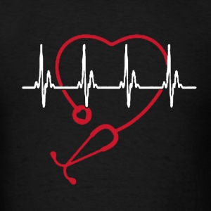 Normal Heartbeat Shirt - Men's T-Shirt