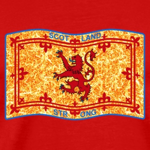 SCOTLAND STRONG LION  - Men's Premium T-Shirt