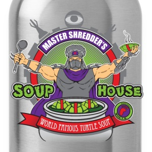 Shredder's Soup House - Water Bottle