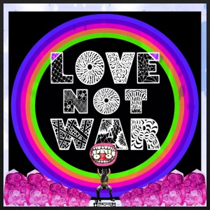 Love, not war! - Men's Premium Tank