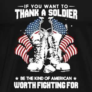 Soldier Shirt - Men's Premium T-Shirt