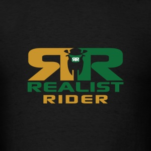 Realist Rider logo Hoodies - Men's T-Shirt