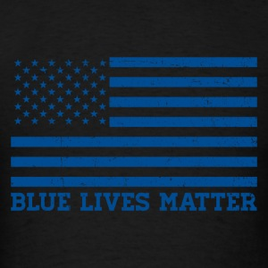 Blue Lives Matter - Flag Sportswear - Men's T-Shirt