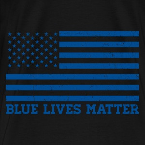 Blue Lives Matter - Flag Sportswear - Men's Premium T-Shirt