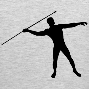javelin thrower Shirt - Men's Premium Tank