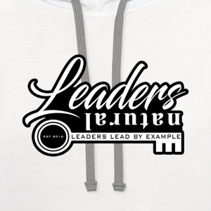 Natural Leaders T-Shirts - Contrast Hoodie