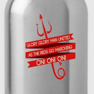Glory Glory Manchester United - Water Bottle