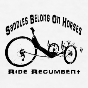 Saddles White Mug  - Men's T-Shirt