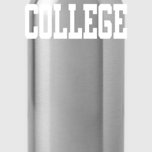 College - Water Bottle